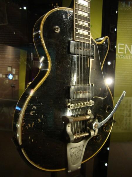 Jimi Hendrix's Gibson 1955 Les Paul Custom Exclusive Electric Guitar