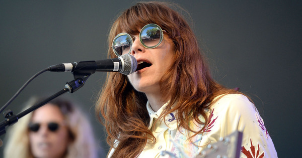 Jenny Lewis's Shure SM58
