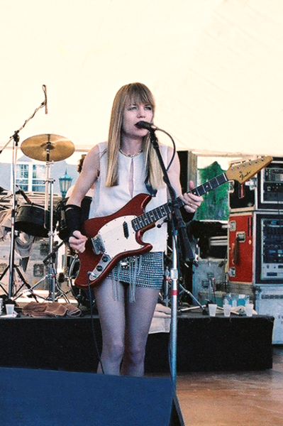 Tina Weymouth's Fender Swinger Electric Guitar