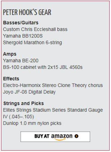 Peter Hook's Yamaha BE-200
