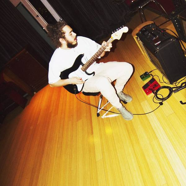 Post Malone's Fender Stratocaster                               (Duplicate)