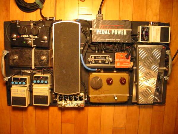 Geoff Farina's Musician Sound Design AutoMagic Silver Machine Wah Wah