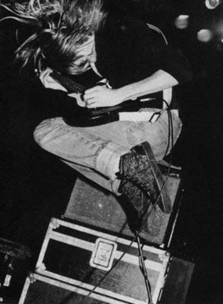 Kurt Cobain's 1982 Fender Twin Reverb Silverface