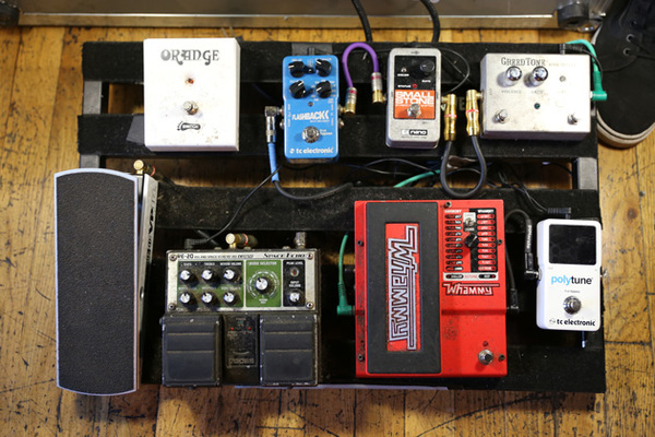 Thomas Erak's TC Electronic Flashback Delay