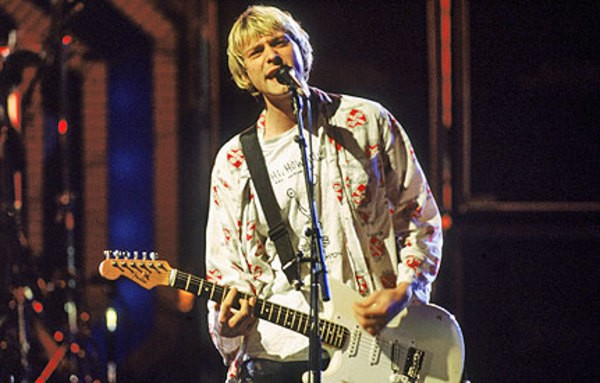 Kurt Cobain's Fender Left Handed Stratocaster White