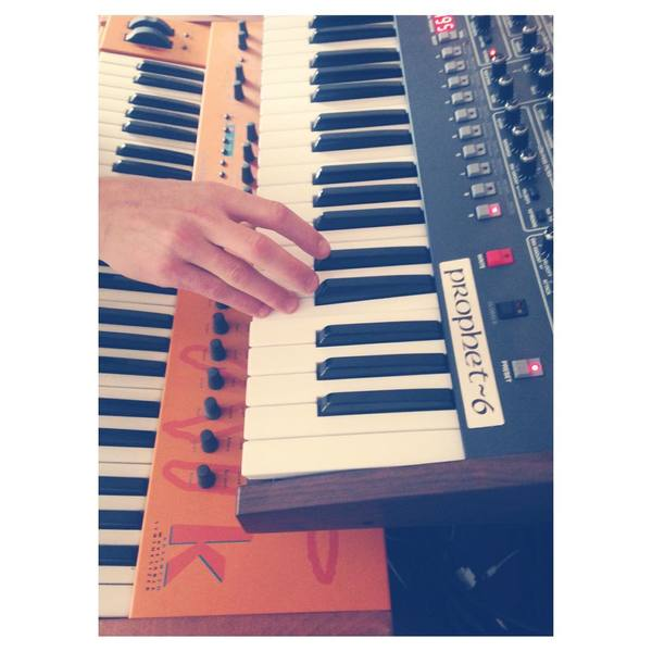 Oh Land's Dave Smith Instruments Prophet-6