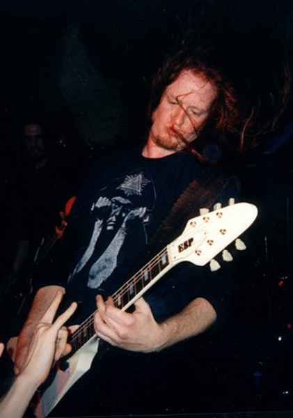 Michael Amott's ESP Flying V