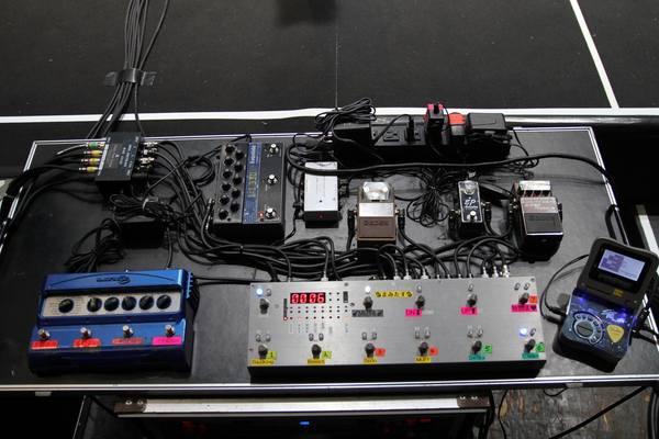 Mami Sasazaki's Eventide TimeFactor Twin Delay Guitar Effects Pedal