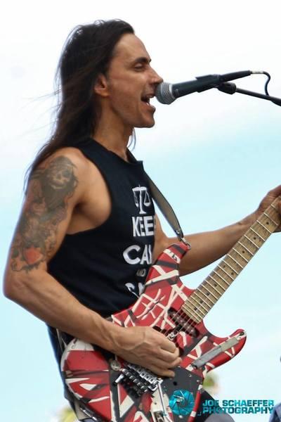 Kramer Eddie Van Halen Custom Equipboard