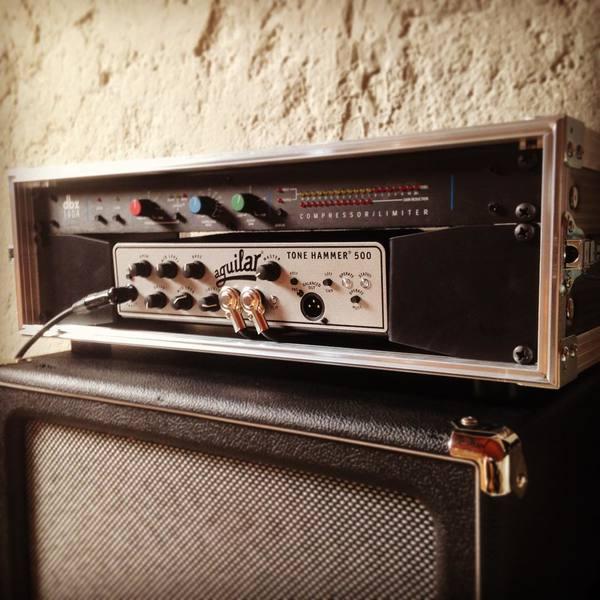 David Caraccio's Aguilar Tone Hammer 500 Head
