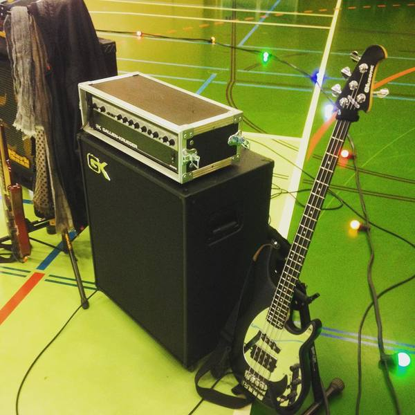 David Caraccio's Gallien-Krueger 800RB Bass Amp Head