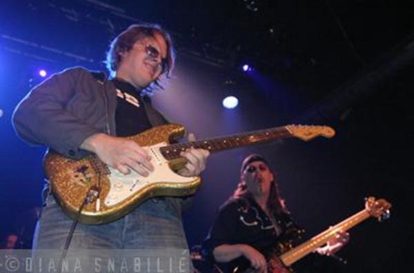 Joe Bonamassa's Fender Gold Sparkle Stratocaster