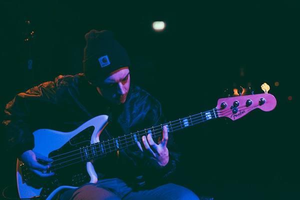 Dec Hart's Fender American Standard Jaguar Bass