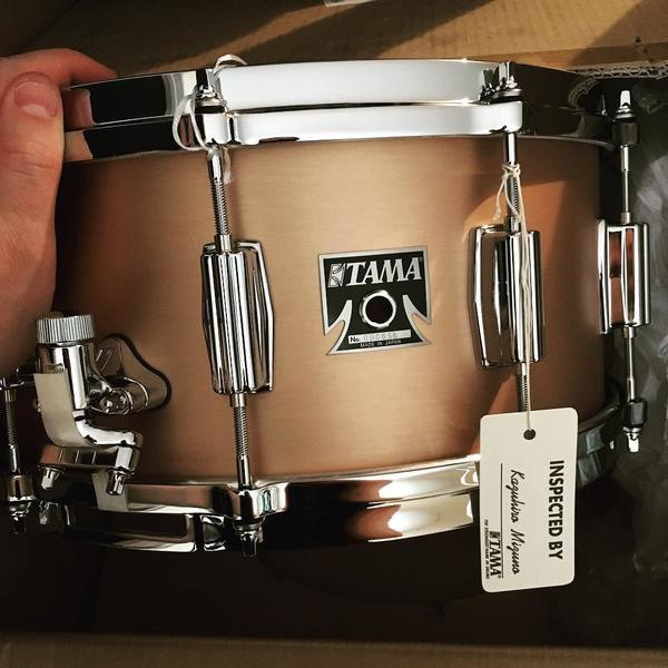 Blake Richardson's Tama Bell Brass Snare Drum 14''x6.5''
