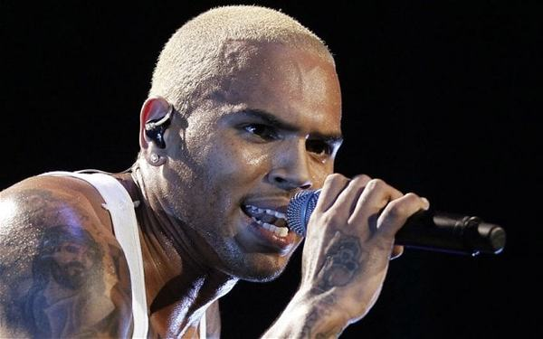 Chris Brown's Shure Beta 57A Vocal Microphone