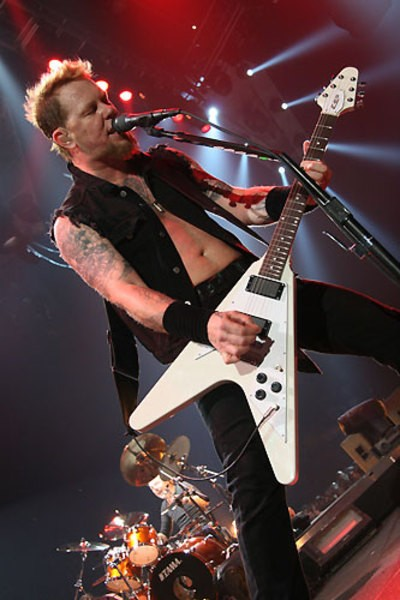 James Hetfield's ESP Flying V