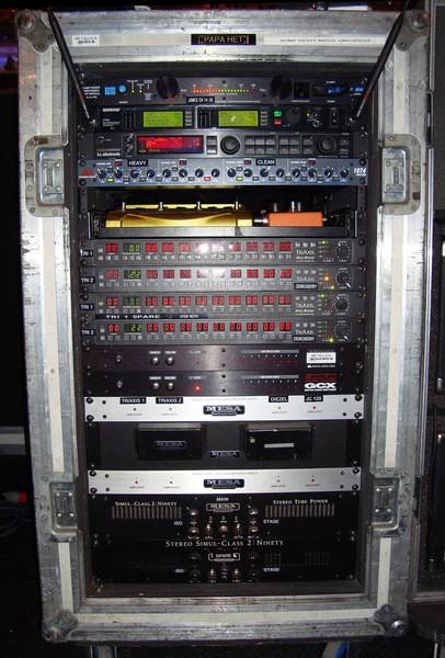 James Hetfield's Shure UR4D Wireless Receiver
