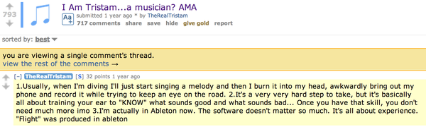Tristam's Ableton Live 8
