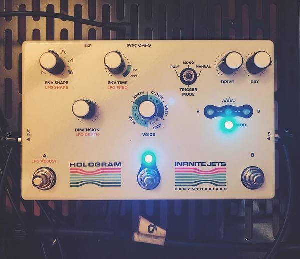 Tycho's Hologram Electronics - Infinite Jets Resynthesizer