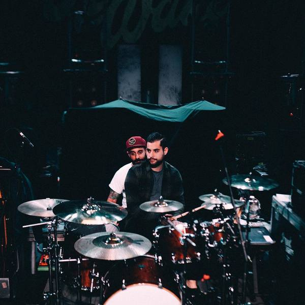 "Mike Ieradi's Zildjian K Custom Hybrid 14 1/4"" HiHat Cymbals"