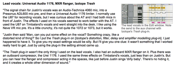 Justin Timberlake's Audio-Technica AT4060