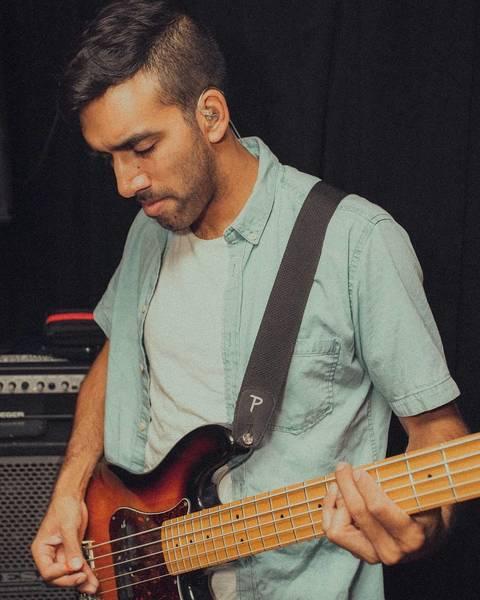 Dominick De Kauwe's Fender Precision Bass