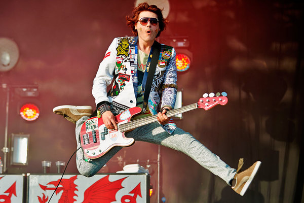 Nicky Wire's Fender Precision Bass