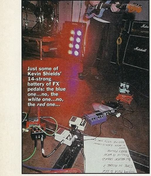 Kevin Shields's DigiTech WH1 Whammy Pedal