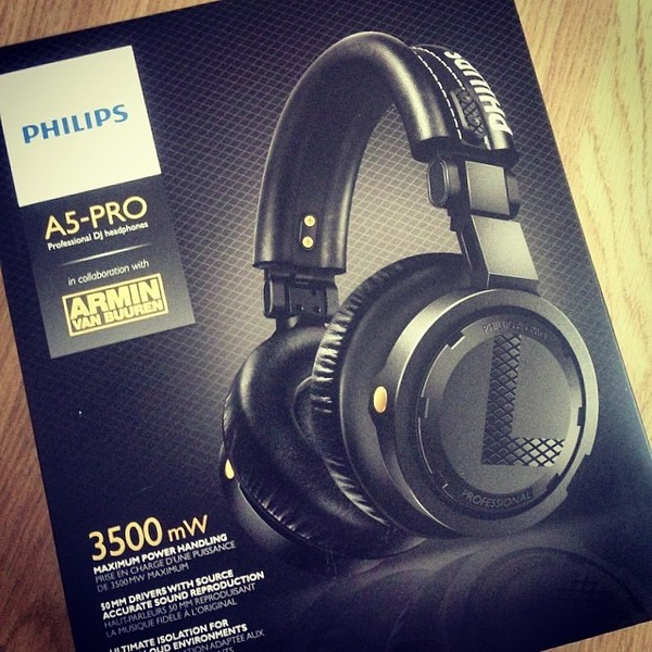 David Gravell's Philips A5-PRO Headphones