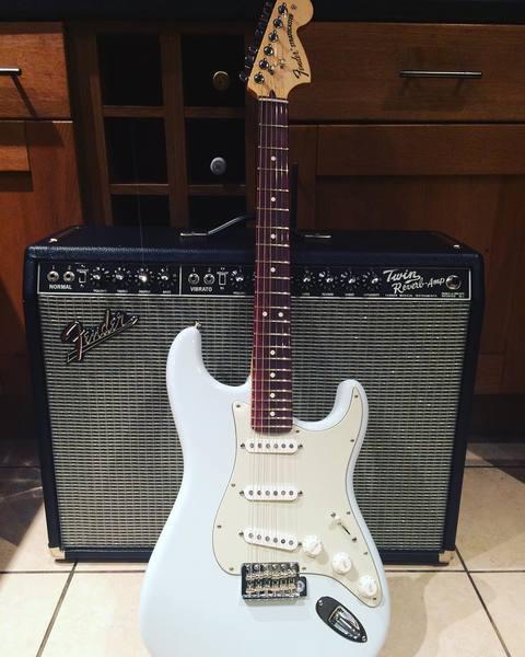 Kris Leonard's Fender Vintage Reissue '65 Twin Reverb 85W 2x12 Guitar Combo Amp