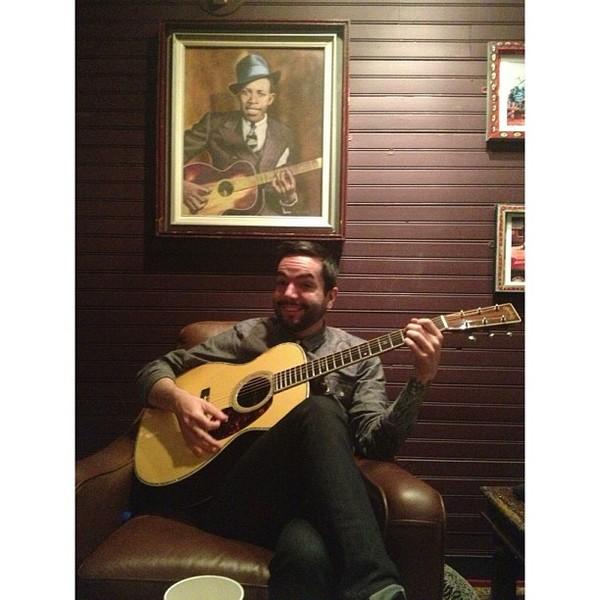 Jeremy McKinnon's Martin D-28 Acoustic Guitar