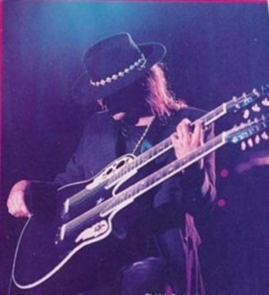Richie Sambora's Ovation Richie Sambora Double Neck