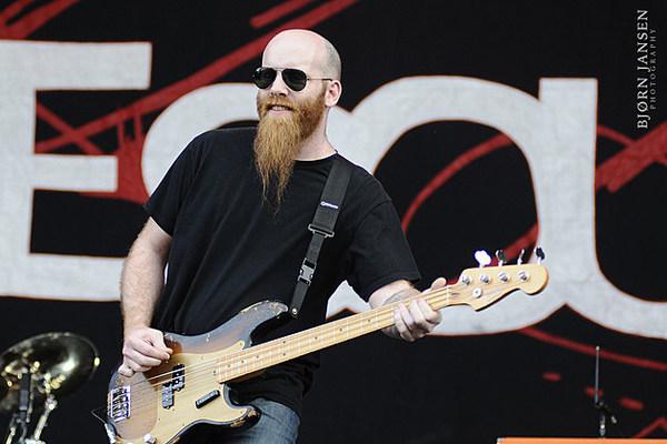 Shawn Economaki's Fender Precision Bass