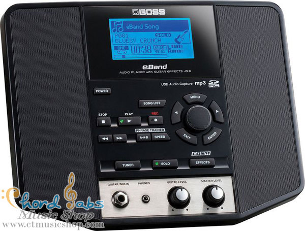 Jack Thammarat's Boss eBand JS-8 Audio Player with Guitar Effects