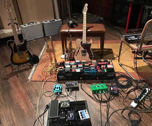 Tash Sultana's Fender American Elite Telecaster Thinline