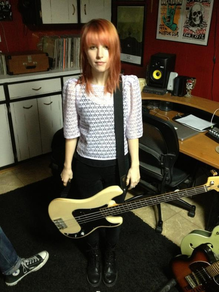 Hayley Williams's Fender Precision Bass       (Duplicate)