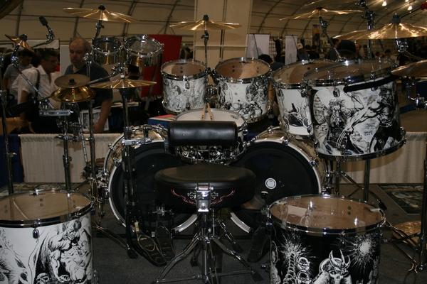 John Dolmayan's Evans G1 Clear Batter Drum Head