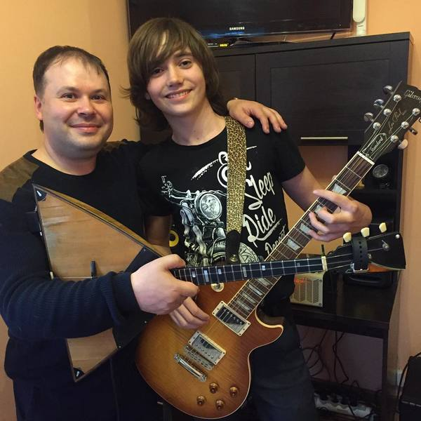 Vladimir Chernoklinov's Gibson Les Paul Standard Electric Guitar