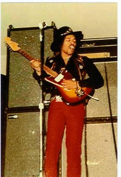 Jimi Hendrix's Fender Jazzmaster Electric Guitar