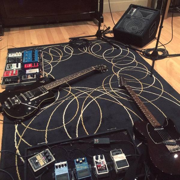 Chris Alderton's Electro-Harmonix Micro POG