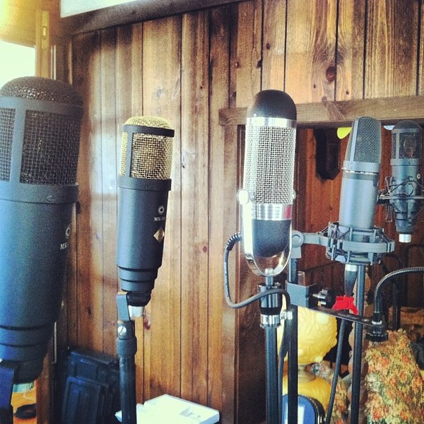 Jer Coons's AEA R84 Ribbon Microphone
