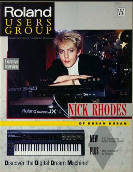 Nick Rhodes's Roland S-50