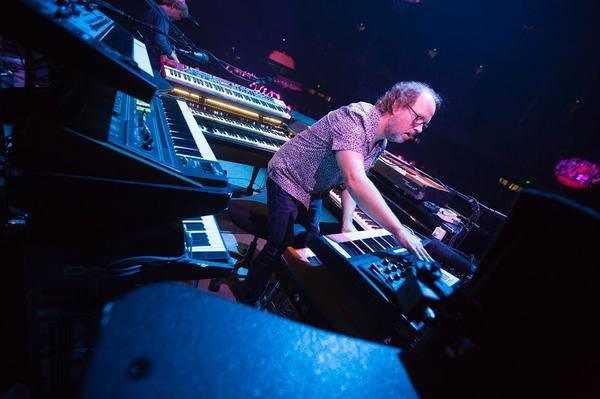 Page McConnell's Moog Minimoog Voyager