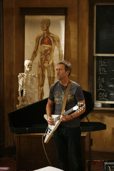 Hugh Laurie's Gibson Flying V Electric Guitar