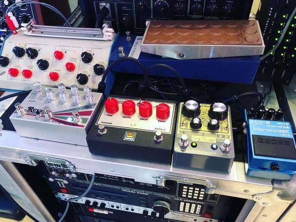 Justin Meldal-Johnsen's Boss HR-2 Harmonist Guitar Effect Pedal