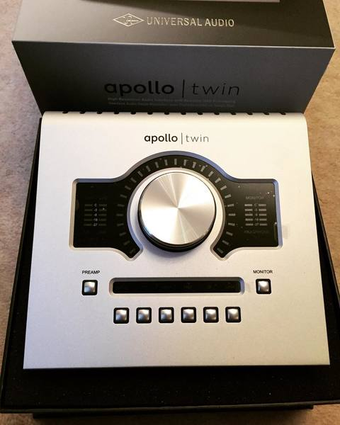 Peter Honoré's Universal Audio Apollo Twin High-Resolution Interface with Realtime UAD Processing