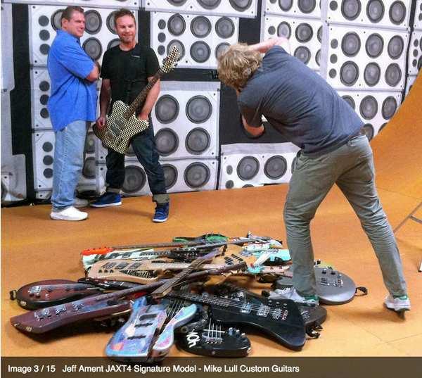 Jeff Ament's Mike Lull Jeff Ament JAXT4