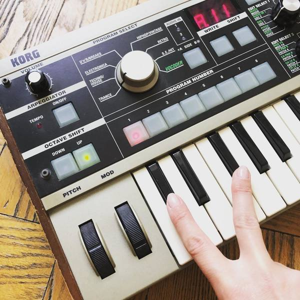 Ada Joachimsthaler's Korg MicroKORG Synthesizer/Vocoder