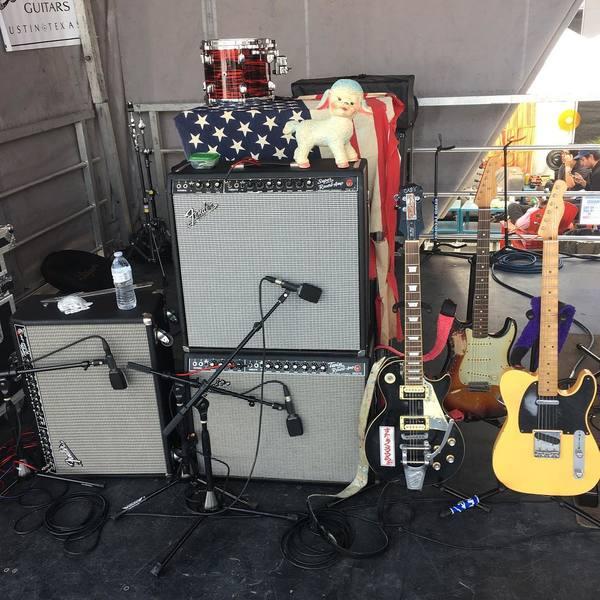 Henri Cash's Fender  '65 Twin Reverb