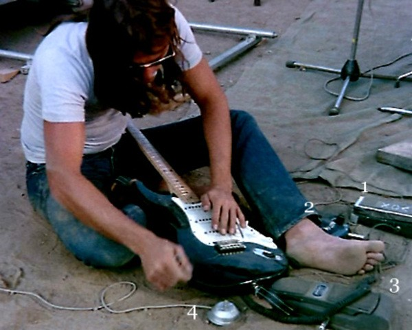 David Gilmour's Dunlop Dallas Arbiter Fuzz Face